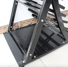metal granite sample display racks-s026