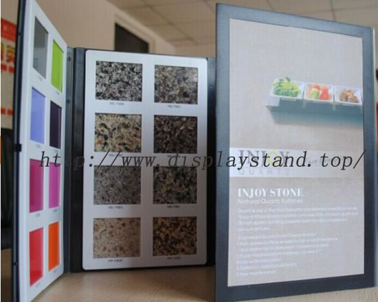 Plastic Brownstone Sample Display Book-B002