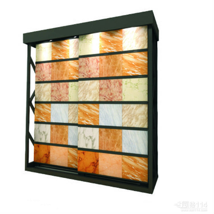 Push-Pull Marble Display,Freestanding Marble Display Stand-S029