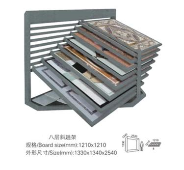 One Rows and One Side Ceramic Display Stands,Ceramic Tile Display Stands-T052