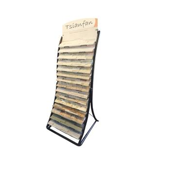 Artificial Stone Display Rack,Stone Showroom Display Rack,Lines Displays-S001