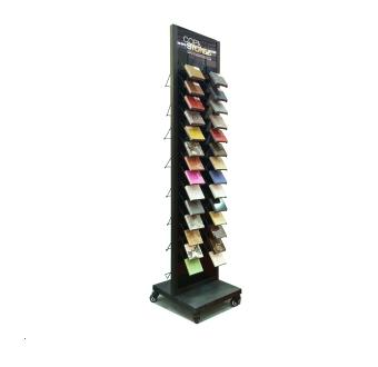 Double face stone exhibition display rack-S016