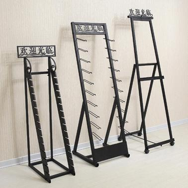 ceramic display rack,Waterfall display stand-T003
