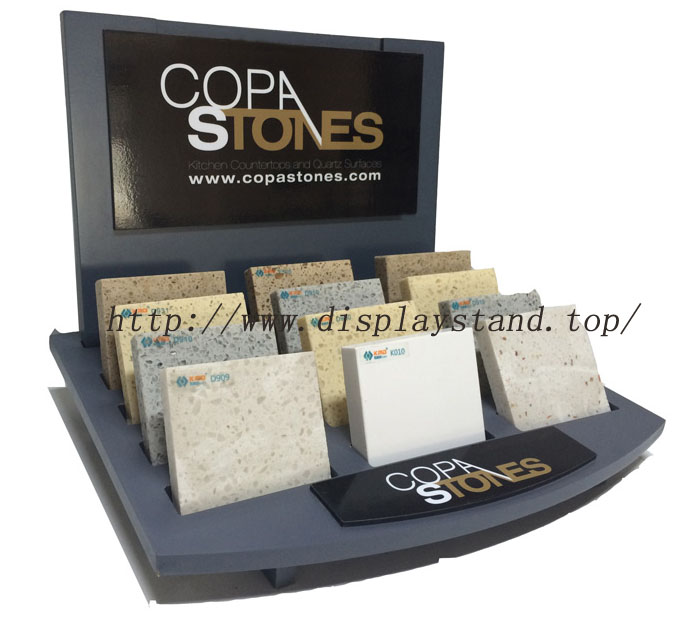 Table Top Display Stand For Quartz Sample,Wooden Display Stands-S078