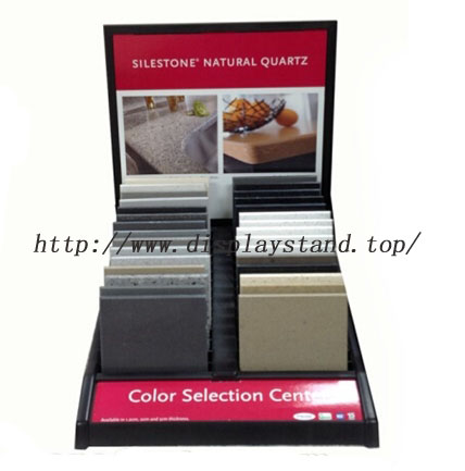 Silestone Natural Quartz Sample Tabletop Rack-S081