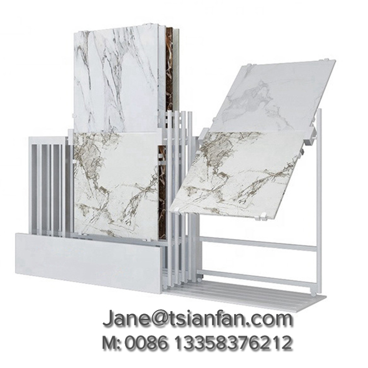 Floor Tile Display Stand New Steel Rotating Ceramic Floor