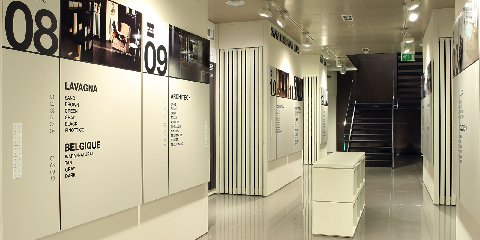 tiles display showroom-NO.2