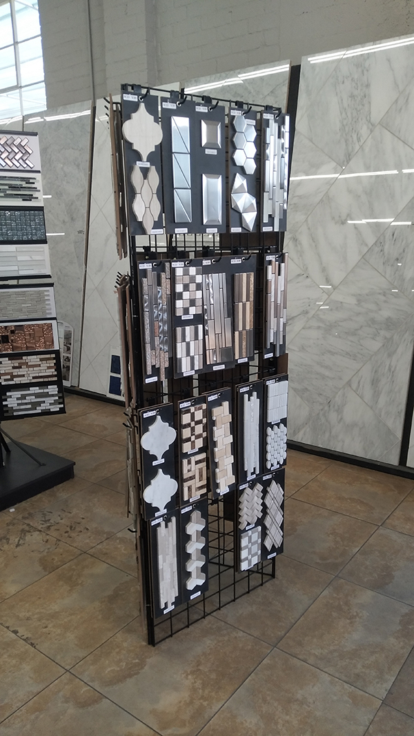 Glass Marble Display Stands,Roman Mosaic Display Stand MD003