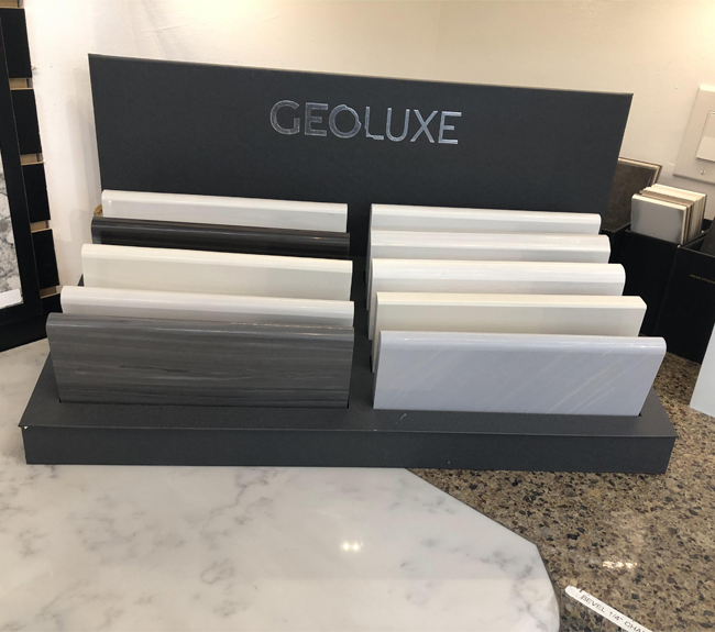 Countertop Display Stand For Displaying Marble Quartz Stone MD071