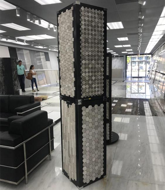 Mosaic Tile Display Rack Manufacturers MD080