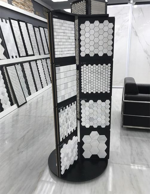 Mosaic Tile Floor Display Rack Supplier MD079