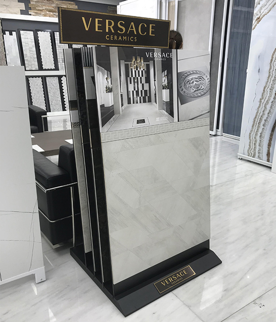 Vertical Ceramic Tile Display Stand MD083