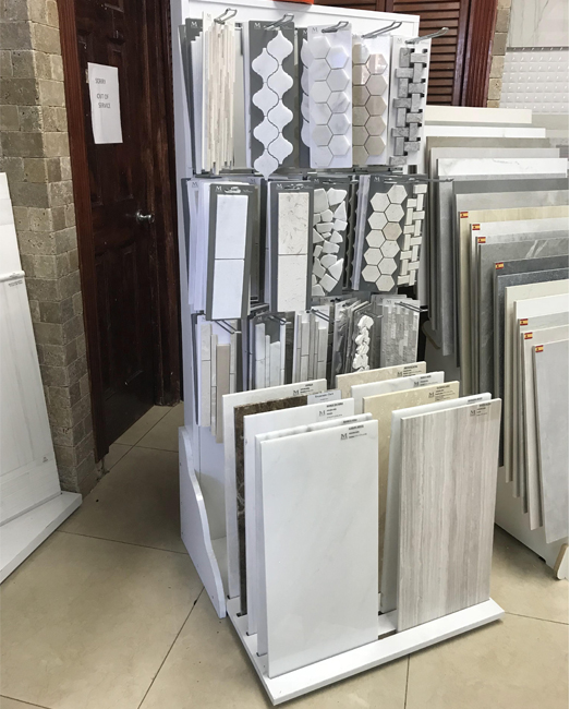 Mosaic Tiles,Stone Tile Display Stand For Showrooms MD081