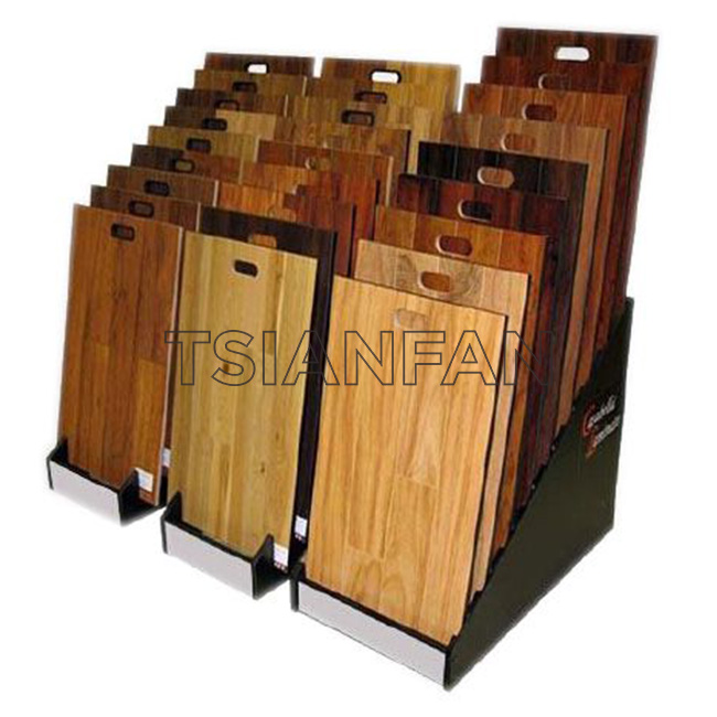 Stone Waterfull Display Stand With MDF Sample Display Board ST-73  Stone display