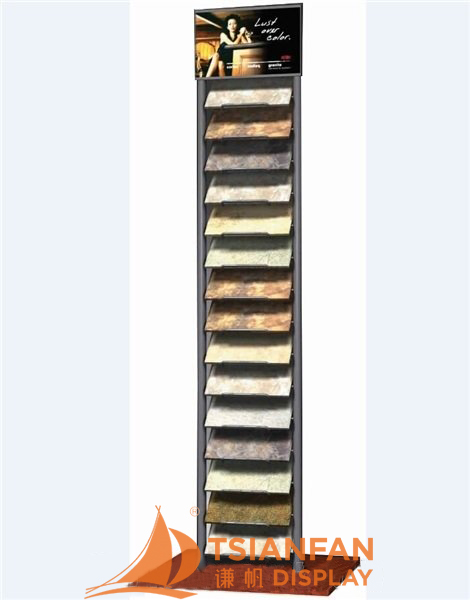 Floor Display Tower Display Stand For Quartz Stone SRL976