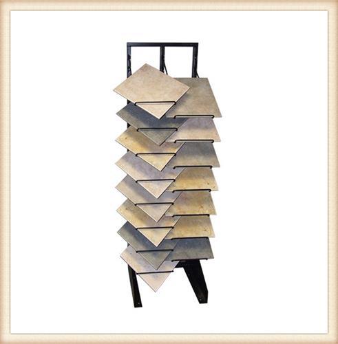 Slotted Display Racks Stands for Ceramic Stone Tile Hardwood Flooring